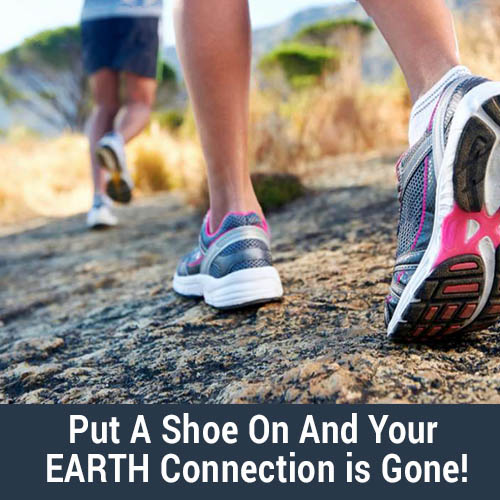 Shoe Disconnection from the earth