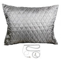 Deep Sleep Silver Pillow Cover - Cord