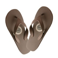 Men's Flip Flop Brown 8 CLEARANCE
