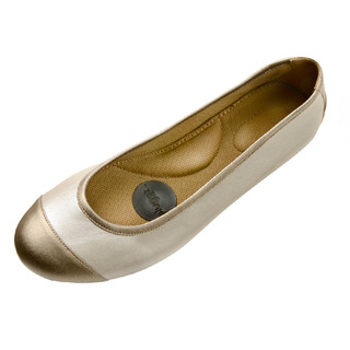 Pluggz Ballet Flat-DuoTone-Taupe NOW $79!
